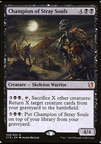 Champion of Stray Souls (Champion der verlorenen Seelen)