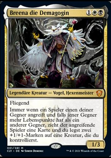 Breena die Demagogin FOIL (Breena, the Demagogue)