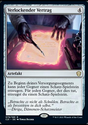Verlockender Vertrag (Tempting Contract)