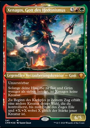 Xenagos, Gott des Hedonismus (Xenagos, God of Revels)