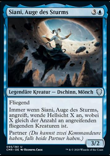 Siani, Auge des Sturms (Siani, Eye of the Storm)
