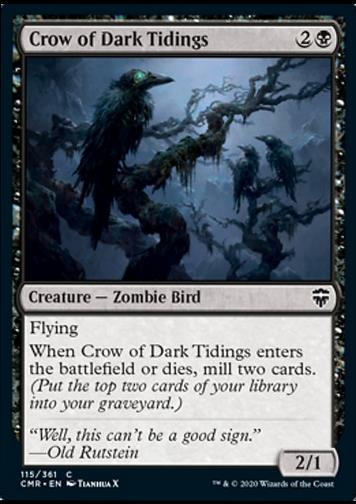 Crow of Dark Tidings (Unheilverkündende Krähe)
