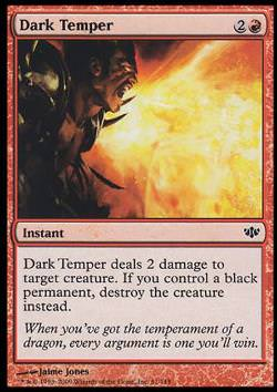 Dark Temper (Düsteres Temperament)
