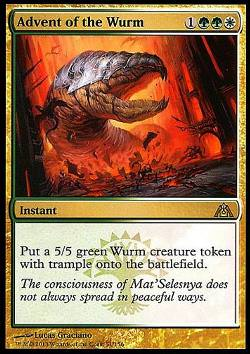 Advent of the Wurm (Ankunft des Wurms)