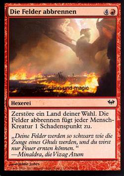 Die Felder abbrennen (Scorch the Fields)