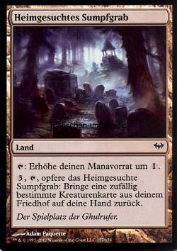 Heimgesuchtes Sumpfgrab (Haunted Fengraf)