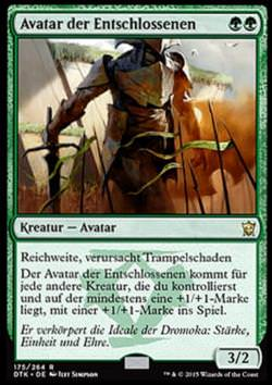 Avatar der Entschlossenen (Avatar of the Resolute)