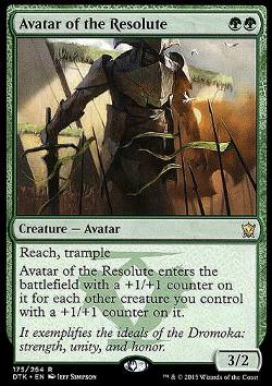 Avatar of the Resolute (Avatar der Entschlossenen)