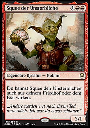 Squee der Unsterbliche (Squee, the Immortal)