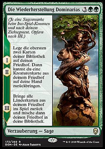 Die Wiederherstellung Dominarias (The Mending of Dominaria)
