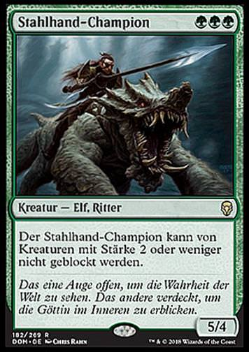 Stahlhand-Champion (Steel Leaf Champion)