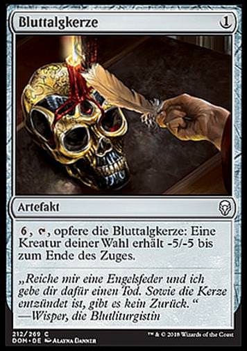 Bluttalgkerze (Bloodtallow Candle)