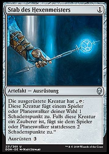 Stab des Hexenmeisters (Sorcerer\'s Wand)