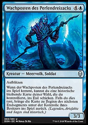 Wachposten des Perlendreizacks (Sentinel of the Pearl Trident)