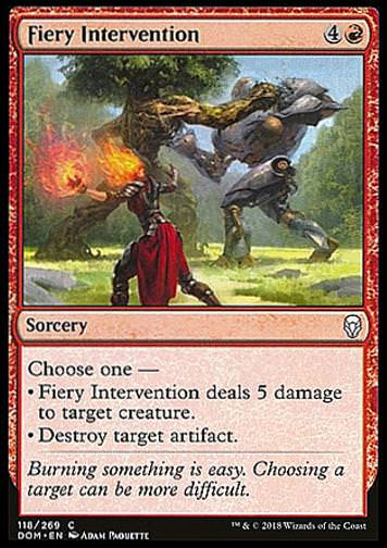 Fiery Intervention (Feurige Intervention)