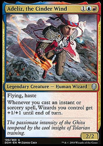 Adeliz, the Cinder Wind (Adeliz Glutwind)
