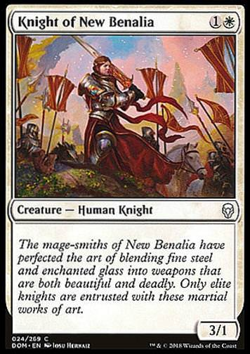 Knight of New Benalia (Ritterin von Neu-Benalia)