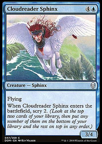 Cloudreader Sphinx (Wolkenleser-Sphinx)