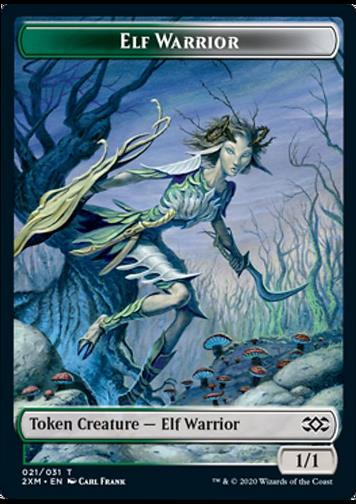 Token Elf Warrior (Elf, Krieger)