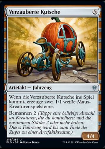 Verzauberte Kutsche (Enchanted Carriage)
