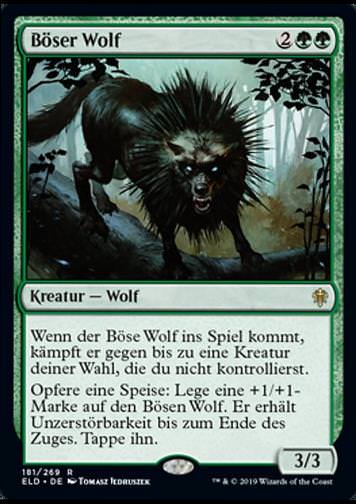 Böser Wolf v.1 (Wicked Wolf)