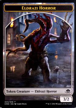 Token: Eldrazi Horror (Colorless 3/2)