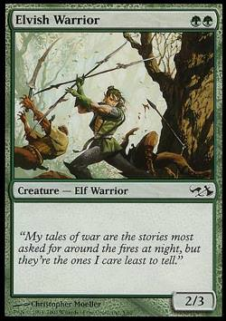Elvish Warrior (Elfenkrieger)