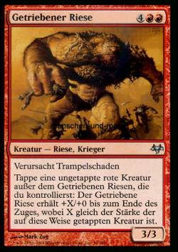 Getriebener Riese (Impelled Giant)