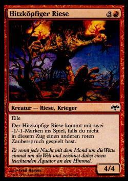 Hitzköpfiger Riese (Hotheaded Giant)