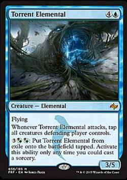 Torrent Elemental (Sturzbach-Elementar)