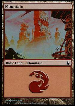 Mountain v.1 - FOIL - (Gebirge)