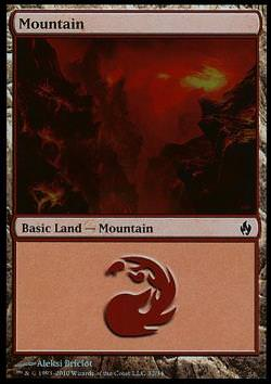 Mountain v.2 - FOIL - (Gebirge)