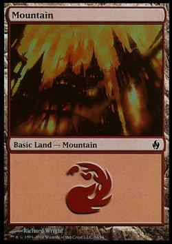 Mountain v.4 - FOIL - (Gebirge)