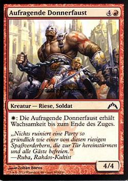 Aufragende Donnerfaust (Towering Thunderfist)