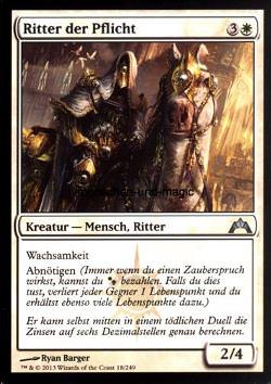Ritter der Pflicht (Knight of Obligation)