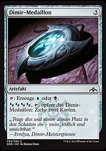 Dimir-Medaillon (Dimir Locket)