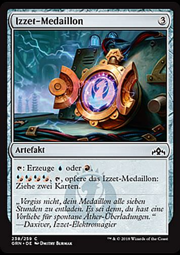 Izzet-Medaillon (Izzet Locket)