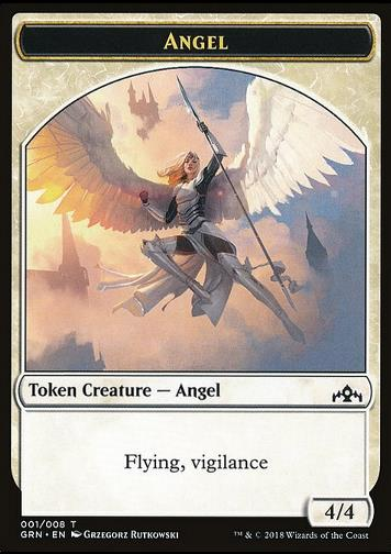 Angel Token (White 4/4 Vigilance) (Token Engel)