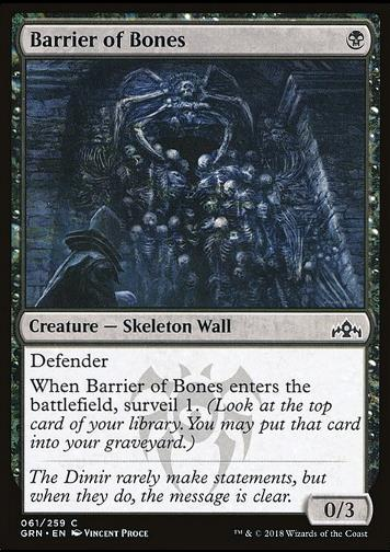 Barrier of Bones (Knochenbarriere)