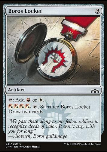 Boros Locket (Boros-Medaillon)