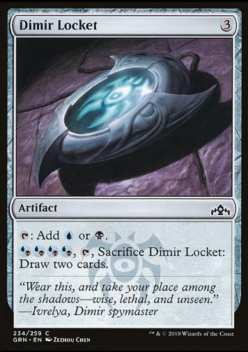 Dimir Locket (Dimir-Medaillon)