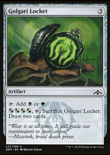 Golgari Locket (Golgari-Medaillon)