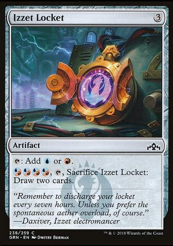 Izzet Locket (Izzet-Medaillon)