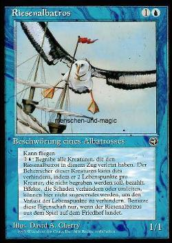 Riesenalbatros - Version 1 (Giant Albatross)