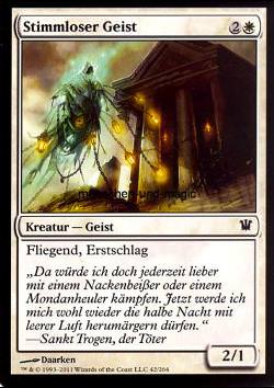 Stimmloser Geist (Voiceless Spirit)