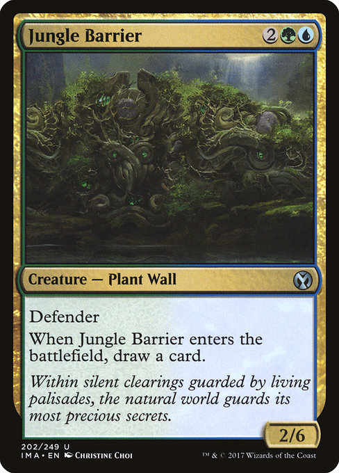 Jungle Barrier - FOIL - (Dschungelmauer)