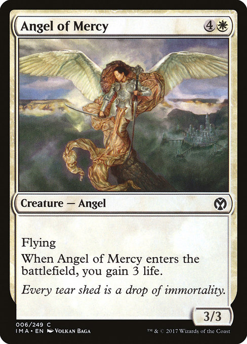 Angel of Mercy - FOIL - (Engel der Gnade)