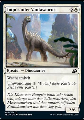 Imposanter Vantasaurus (Imposing Vantasaur)