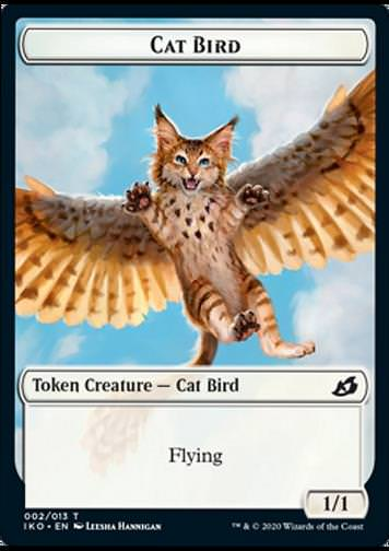 Token Katze Vogel (Cat Bird)