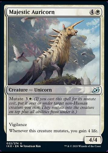 Majestic Auricorn v.1 (Majestätisches Goldhorn)